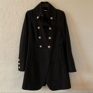 Worthington wool coat • double breasted• pea coat